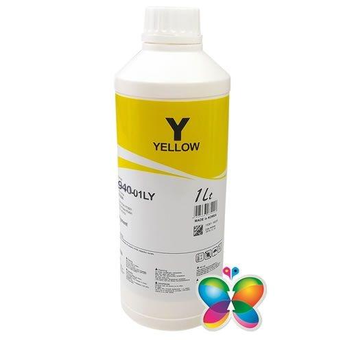 1 Litro - Tinta Pigmentada Inktec Hp - H8940 - Yellow