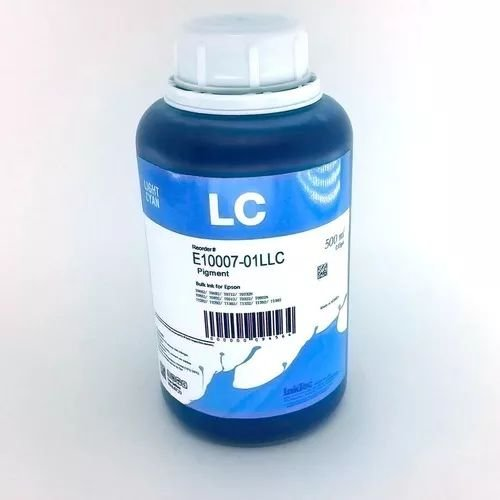 500 Ml - Tinta Pigmentada Inktec Epson - Light Cyan - E0007
