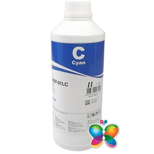 1 Litro - Tinta Pigmentada Inktec Epson - Cyan - E0007