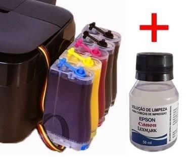 Bulk Ink Epson T1110, T33 + Kit Limpeza+ Tinta Inktec