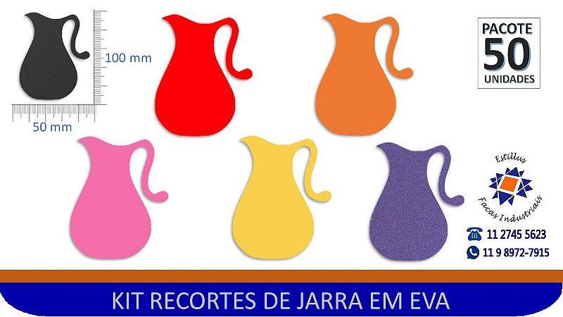 #RECORTE JARRA EM EVA