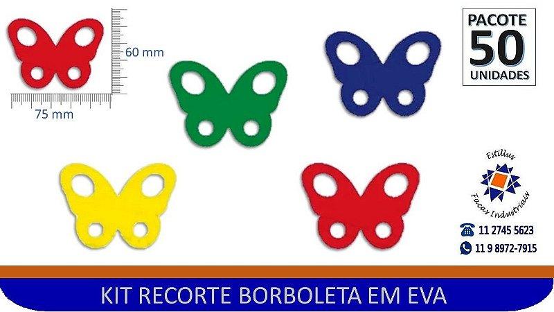 #RECORTE DE BORBOLETA EM EVA