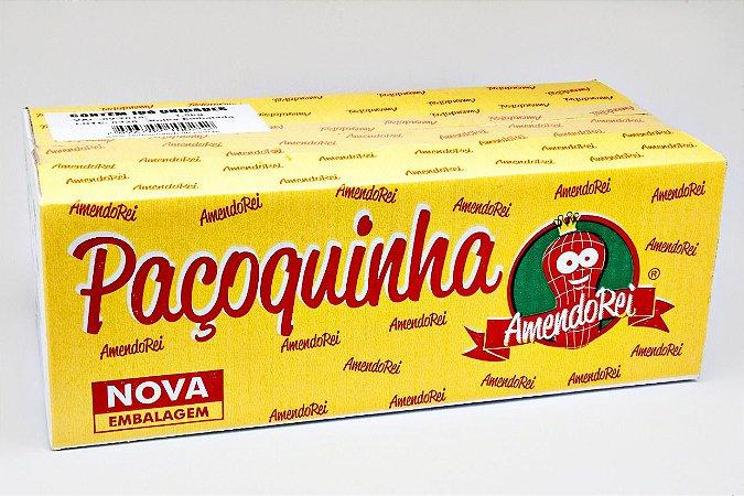 Paçoquinha de Amendoim Rolha Embrulhada com 100un