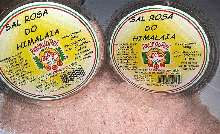 Sal Rosa do Himalaia Fino/Grosso 500g