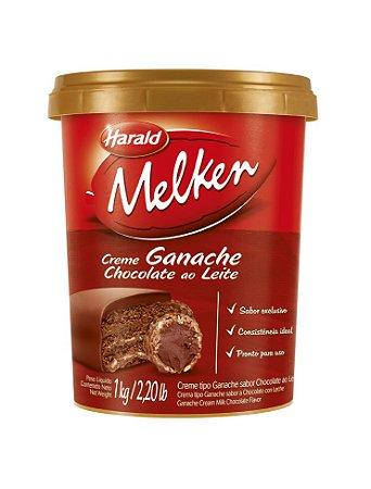 HARALD MELKEN GANACHE SABOR CHOCOLATE AO LEITE 1KG