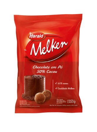HARALD MELKEN CHOCOLATE EM PÓ 50% CACAU 1,05KG
