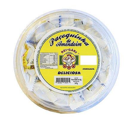 Paçoquinha de Amendoim Rolha Embrulhada com 21un