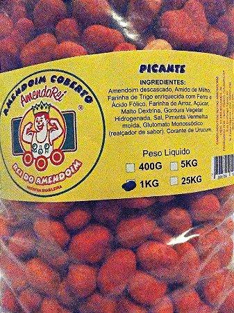 Amendoim Japonês Sabor Picante 1kg
