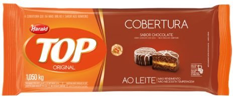 Cobertura de Chocolate TOP original Harald 1050kg