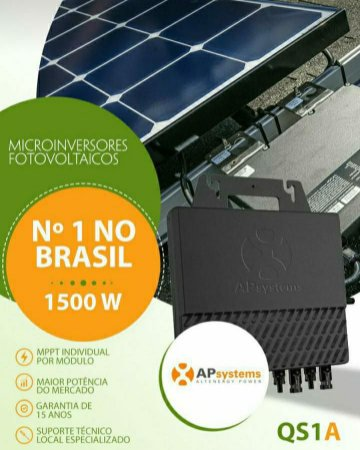 MICRO INVERSOR APSYSTEMS AP SYSTEMS QS1A 1500W