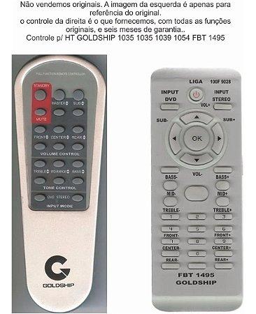 Controle Remoto Compatível - Goldship 1035 1039 1054 FBT1495