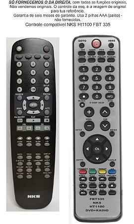 Controle Remoto Compatível - NKS Home Ht 1100 FBT335