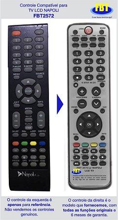 Controle Compatível LCD TV Napoli FBT2572
