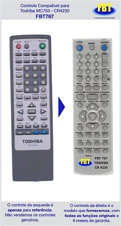 Controle Compatível Toshiba MC753 CR4230 FBT767