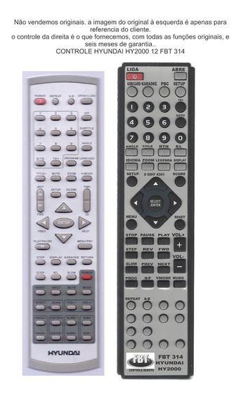Controle Compatível Com Hyundai 2000 FBT 314