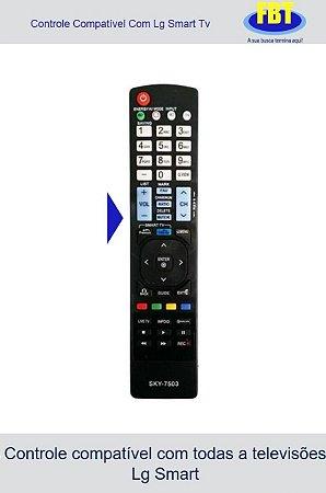 Controle Compatível Com Tv Lg Smart