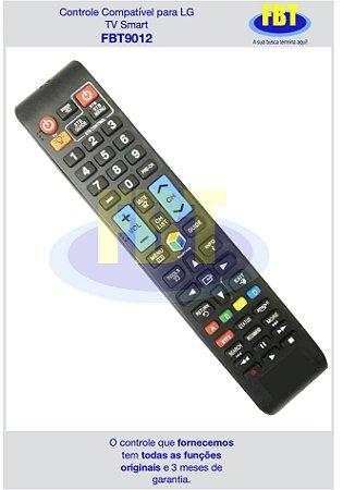 Controle Compatível para TV Samsung Smart FBT9012