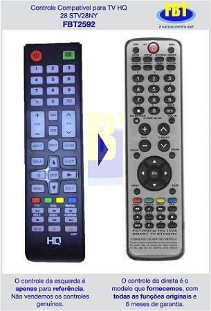 Controle Compatível para TV HQ 28 STV28NY FBT2592