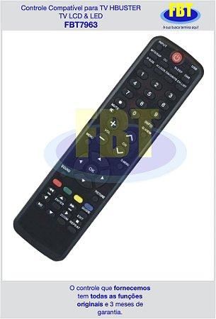 Controle Compatível para TV HBUSTER TV LCD & LED FBT7963