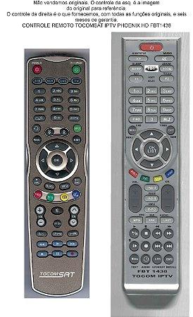 CONTROLE IPTV TOCOMSAT PHOENIX HD