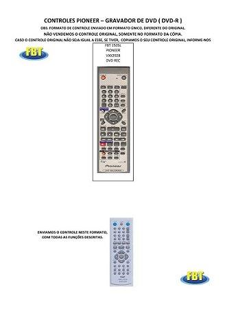 Controle Remoto Gravador De Dvd Panasonic Philips Proview Samsung Semp Toshiba Tronics Venturer