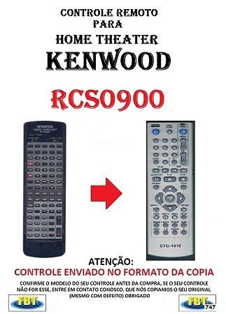 Controle Remoto Compatível - para Home THEATER KENWOOD RCS0900