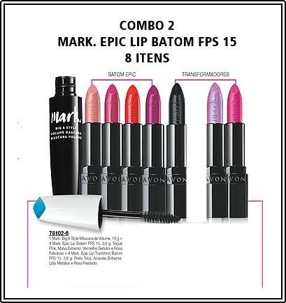 COMBOS - MARK. EPIC LIP BATOM FPS 15