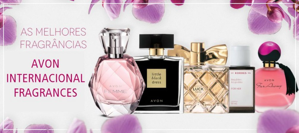 AVON  INTERNATIONAL  FRAGRANCES - FEMININAS & MASCULINOS
