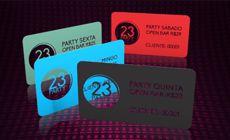 Cartão de Visita em PVC - Frente ou Frente e Verso c/ verniz total