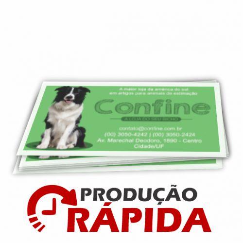 ÍMÃS DE GELADEIRA CORTE RETO |VERNIZ TOTAL FRENTE (BORDA BRANCA)