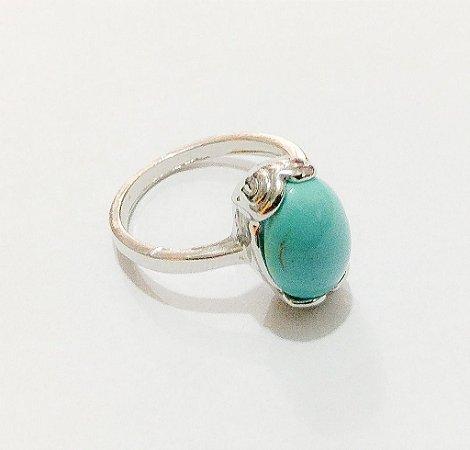 Anel Pedra Azul Amélia