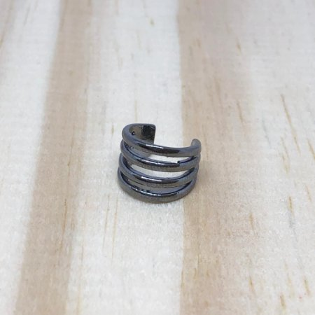 Piercing Fake Argolas Ródio Negro