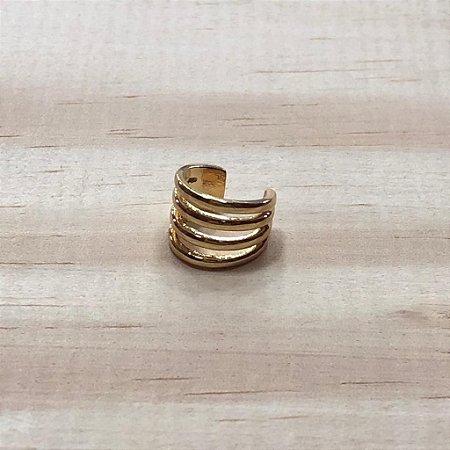 Piercing Fake Argolas Dourado