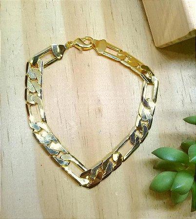 Pulseira 3x1 Dourado