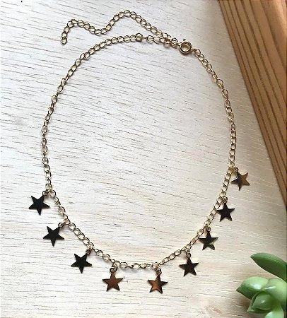 Chocker Estrela Dourado