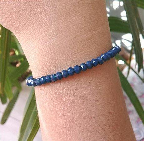 Pulseira Pedra Natural Lápis Lázuli