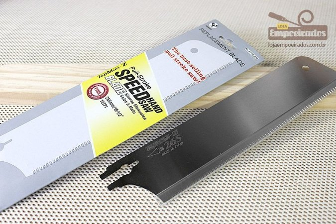 Lâmina de Reposição para Serrote Japonês - Gabarito Ângulo Livre 265mm [8118-B26]