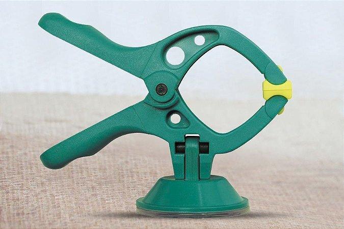 Mini Grampos com Ventosa Microfix Wolfcraft 3663 - Com 4 unidades