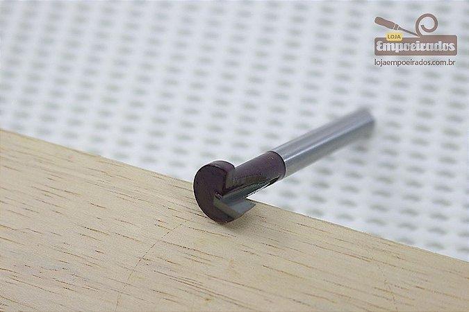 Fresa AGE™ Pro-Series Amana Tool - Key Hole / T 9,5mm para Trilho T-Track [FR200]