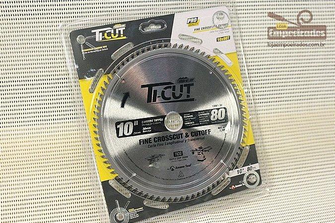 Disco de Serra Circular para MDF e Compensado 250mm - 80 dentes - Amana Tool