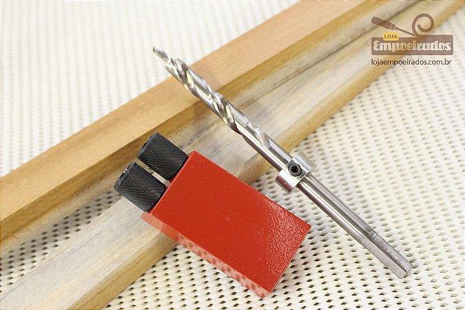 Gabarito para Furação em Grau e Broca Escalonada - Pocket Hole Jig [WesTools]