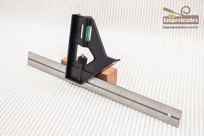 Esquadro Combinado para Carpinteiro - Stanley