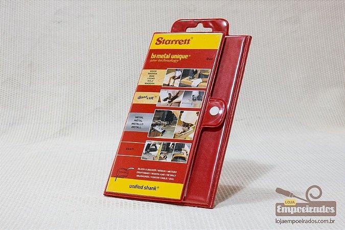 Kit Serra Tico Tico Starrett BU4-S - Com 19 serras