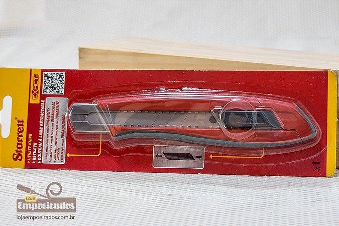 Estilete Starrett 18mm Exact - Trava Automática