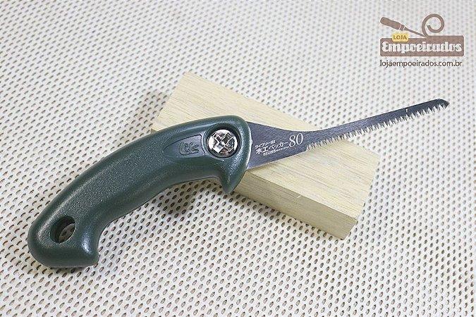 Serrote Japonês Key Hole Saw para corte de fechaduras e curvas - 80mm
