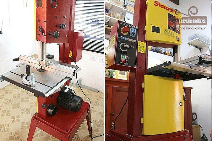 Máquina de Serra de Fita para Madeira Vertical Starrett - S2510 [FAÇA A COTAÇÃO COM A GENTE ANTES DE COMPRAR!]