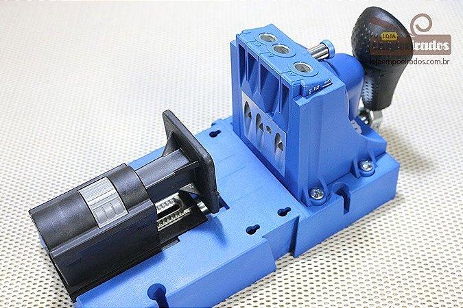 Gabarito Completo de Furação Pocket Hole Jig Métrico - Kreg K5