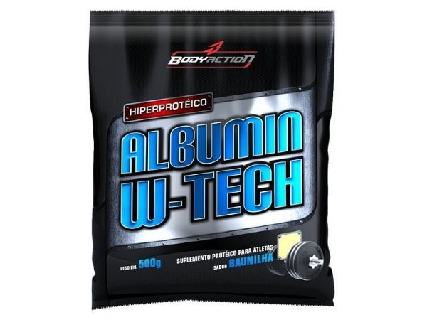Albumin W-Tech (500g) - BodyAction
