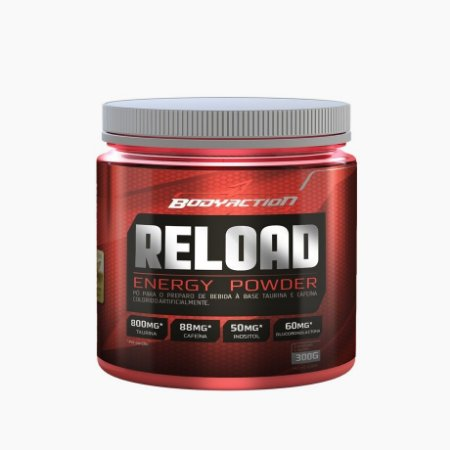 Reload Energy Powder (300g) - BodyAction