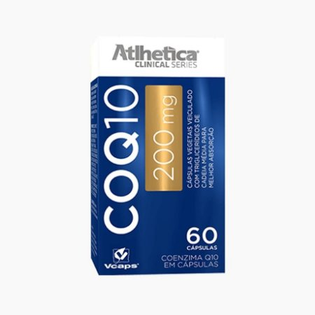 COQ10 - Coenzima Q10 (60caps - 200mg) - Atlhetica Clinical Series